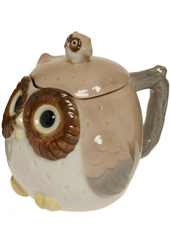 Owl Have a Small Tea Covered Mug