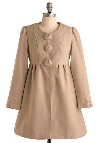 Tuileries Garden Coat by Darling - Long
