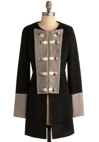 Admiral Qualities Coat - Long