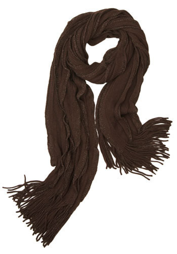Hot Fudge Ripple Scarf