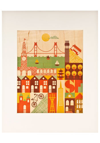 It Takes a Village Print in SF