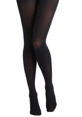 NEW SKU 33386: Tights for Every Occasion in Family Dinner - Blue, Solid, Casual