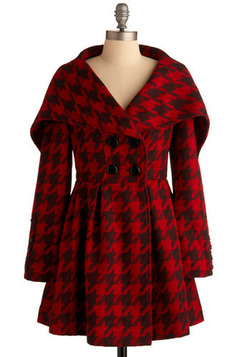 Houndstooth of the Baskervilles Coat