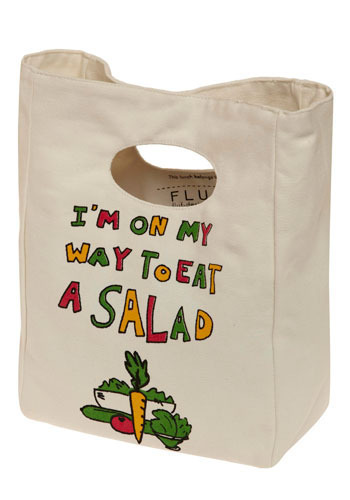I'm on My Lunch Break Bag in Salad