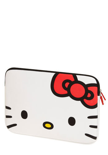 Hello Komputer Laptop Case by Loungefly - Cats