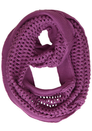 Eternally Yours Scarf in Perpetual Plum