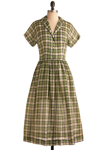 Vintage Stylish Acres Dress