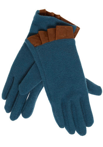 Teal City Gloves
