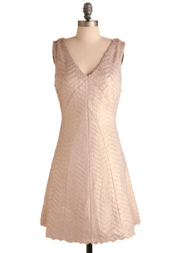 Warmly Received Dress - Pink, Solid, Special Occasion, Prom, Wedding, Party, A-line, Tank top (2 thick straps), Mid-length
