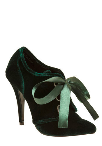 Everlasting Emerald Heel