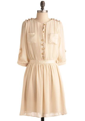 White Chocolate Truffle Dress