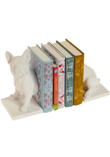 Canine Companion Bookends in French Bulldog