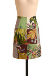 Vintage Do the Shuffle Skirt