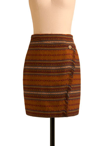 Vintage Mexican Sunset Skirt