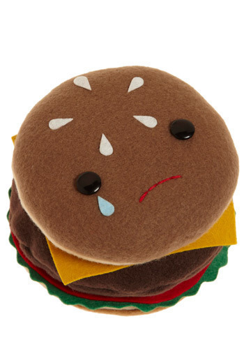 Food with Faces in Burger - Multi, Dorm Decor