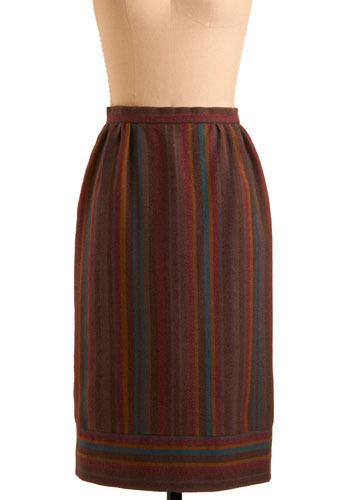 Vintage Ceramics Teacher Skirt