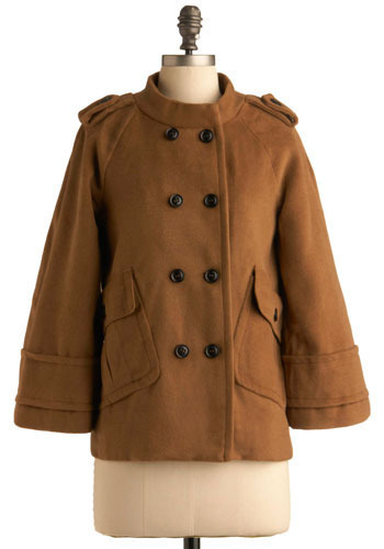 Sophisticated Sleuth Coat - Mid-length