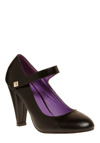 Wish You Were Heel - Black, Solid, Wedding, Party, Work, Casual