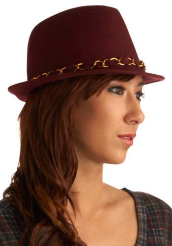 Raspberry Dazzle Hat