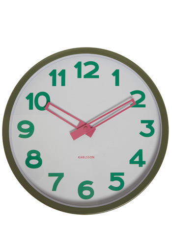 Splash of Color Clock - Multi, Dorm Decor
