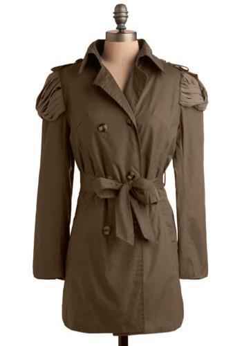 Coulda Woulda Shoulder Jacket - Long