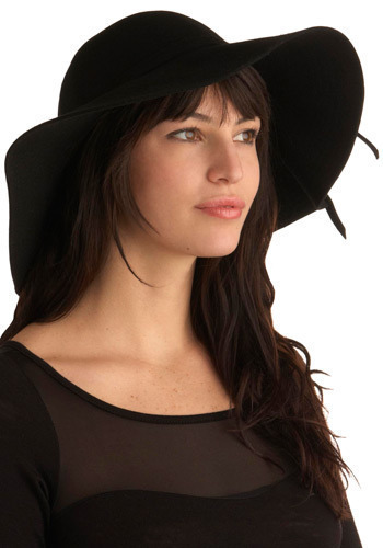 Never Felt This Way Hat - Black, Solid, Casual, Boho, Luxe, Urban, Spring, Summer, Fall