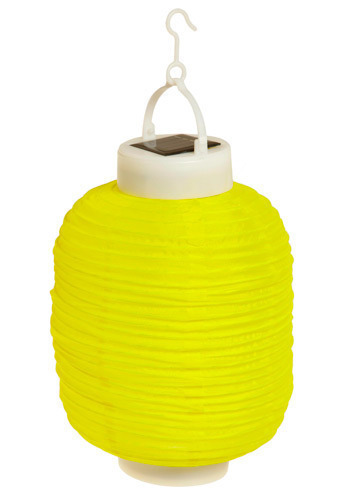Day to Night Solar-Powered Lanterns by Present Time - Yellow, Green, Pink, White, Dorm Decor