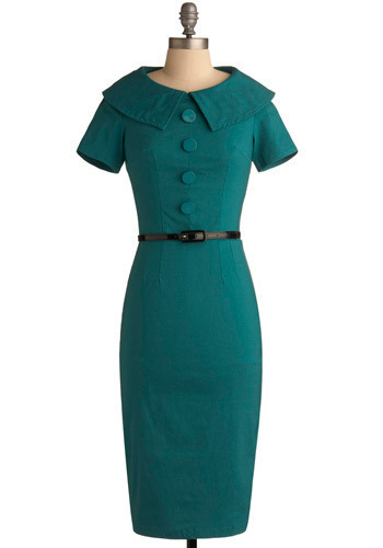 Ambitious Endeavor Dress by Bettie Page - Long