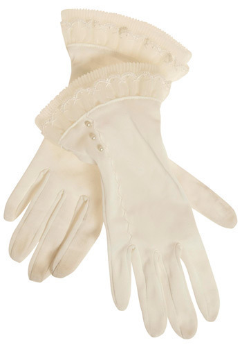 Vintage After Dinner Dessert Gloves