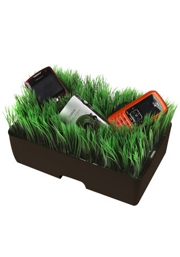 Electric Garden Charging Station in Black - Black, Dorm Decor, Eco-Friendly