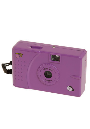 Professional Muse 35mm Camera in Purple - Purple