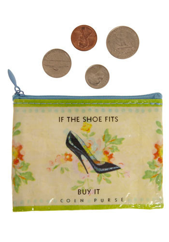 Words of Wisdom Coin Purse