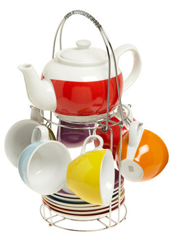 Fits the Billiard Tea Set - Multi, Gifts Sale