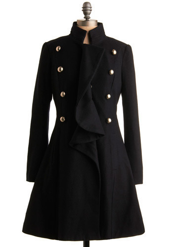 Upper Deck Coat - Long