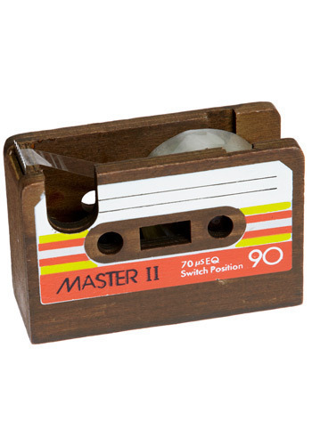 Here's My Demo Tape Dispenser