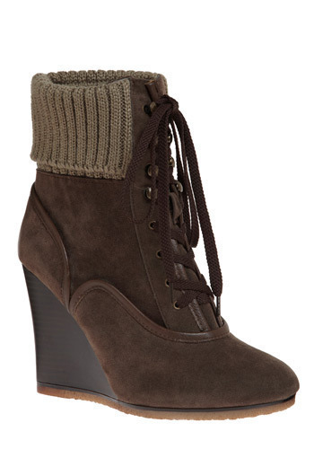 If You're So Inclined Boot - Brown, Solid, Casual, Winter