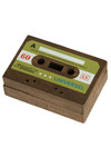 Dub Duty Keepsake Box - Green, Brown, Dorm Decor