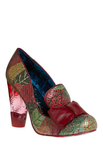 Amadeus Heel in Metallic by Irregular Choice