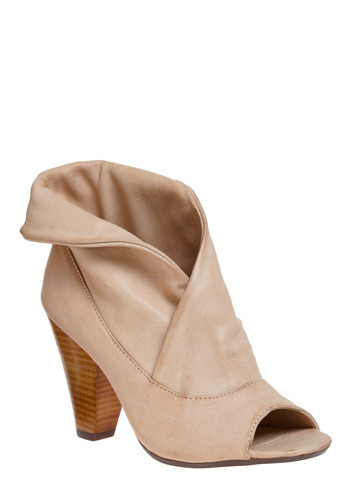 The Dramatist Heel - Pink, Solid, Cutout, Party, Casual
