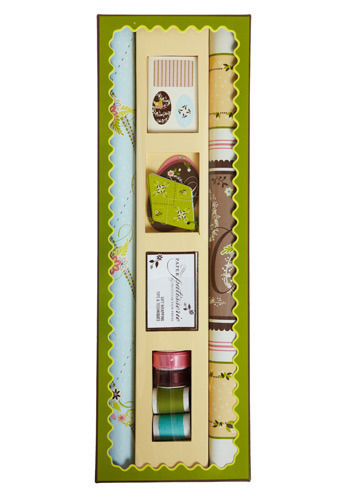 Paper Patisserie Gift Wrapping Kit  Mod Retro Vintage Books