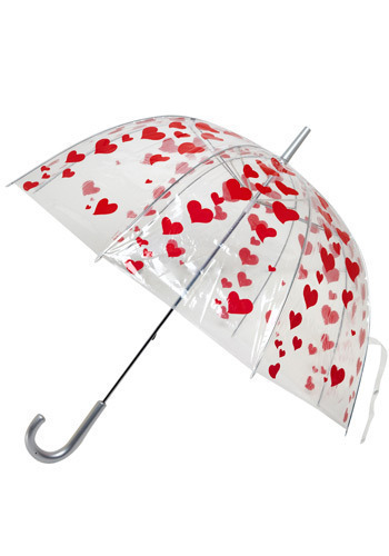I Heart Umbrellas - Valentine's, Spring, Press Placement
