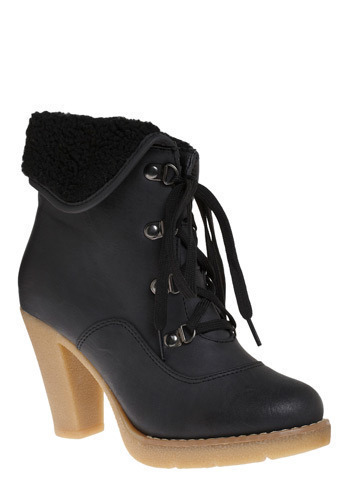 Montclair Boot - Black, Solid, Casual, Fall, Winter