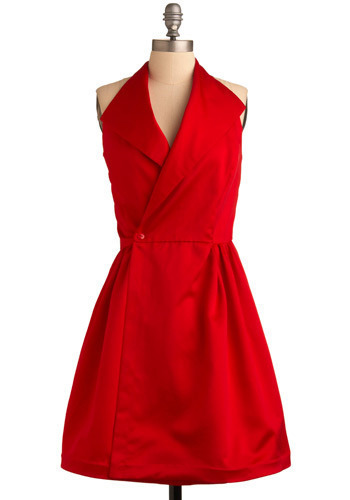 Vintage Halter Holiday Party Dress