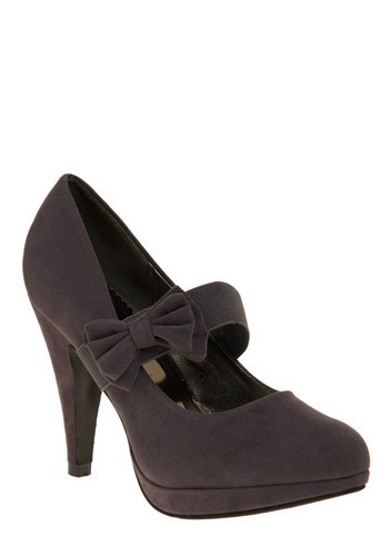 Tranquil Nights Heel - Pinup, Platform, High, Mary Jane