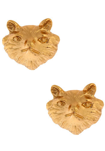 Fabulous Ms. Fox Earrings