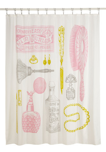 Freshen Up Shower Curtain in Primping