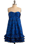 Betsey Johnson Day at the Museum Dress by Betsey Johnson - Short