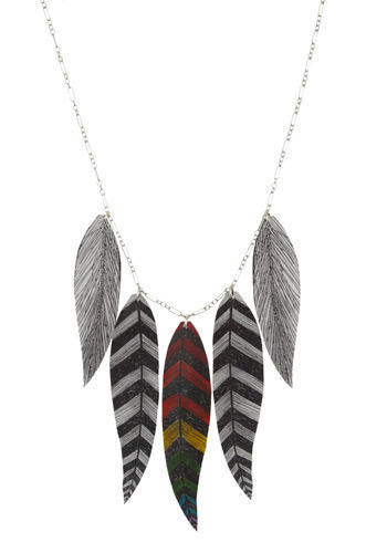 Plethora of Plumes Necklace