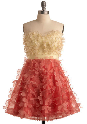 Singing the Blooms Dress