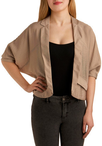 Cafe Con Leche Blazer - Short
